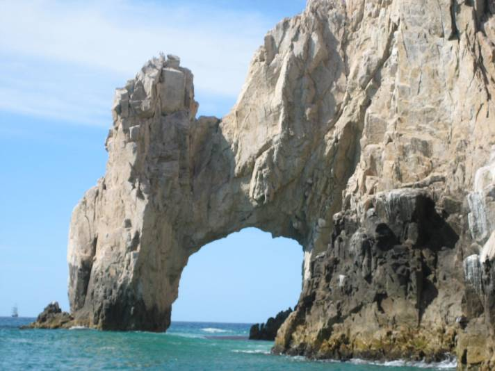 The arch in Cabo San Lucas by Jen